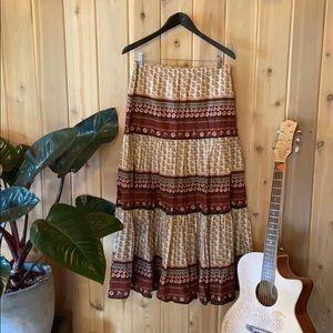 Gorgeous boho skirt